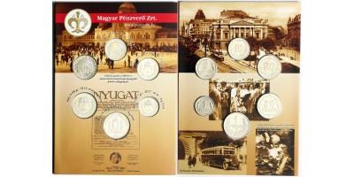 Mesterdarabok ezüstből pengő sor 1926 PP