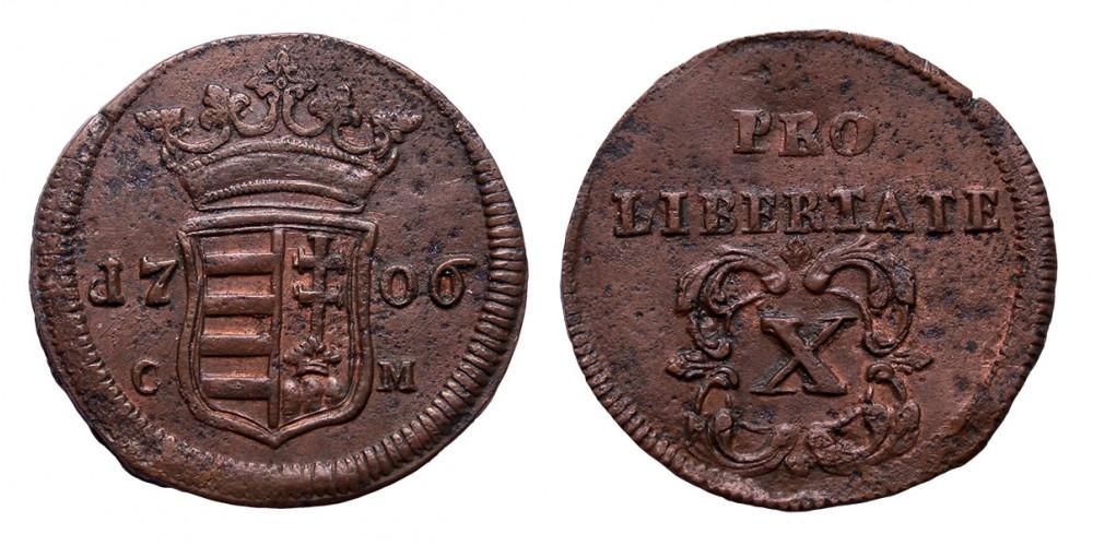Rákóczi szabadságharc X poltura 1706 C-M