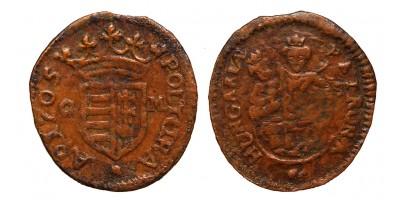 II.Rákóczi poltura 1705 C-M