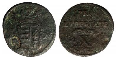 Rákóczi X poltura 1705 ellenjeggyel