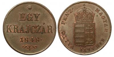 Egy krajczár 1848