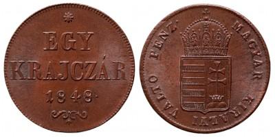 Szabadságharc Egy krajczár 1848