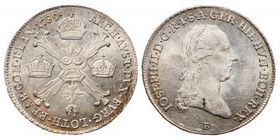 II.József 1/4 koronatallér 1789 B