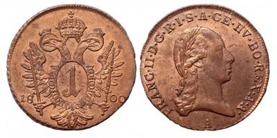 I.Ferenc krajcár 1800 A