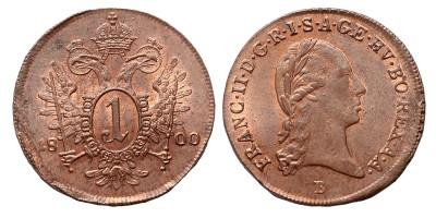 I.Ferenc krajcár 1800 B