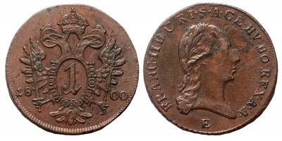 I.Ferenc  krajcár 1800 E