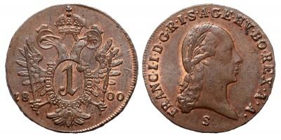 I.Ferenc krajcár 1800 S