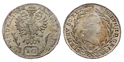 II.József 10 krajcár 1788 B