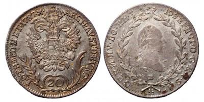 II.József 20 krajcár 1787 B