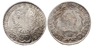 I.Ferenc 20 krajcár 1803 B