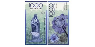 1000 Moneta utalvány