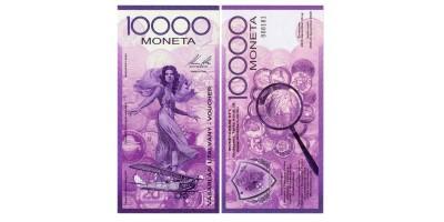 10000 Moneta utalvány