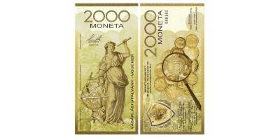 2000 Moneta utalvány